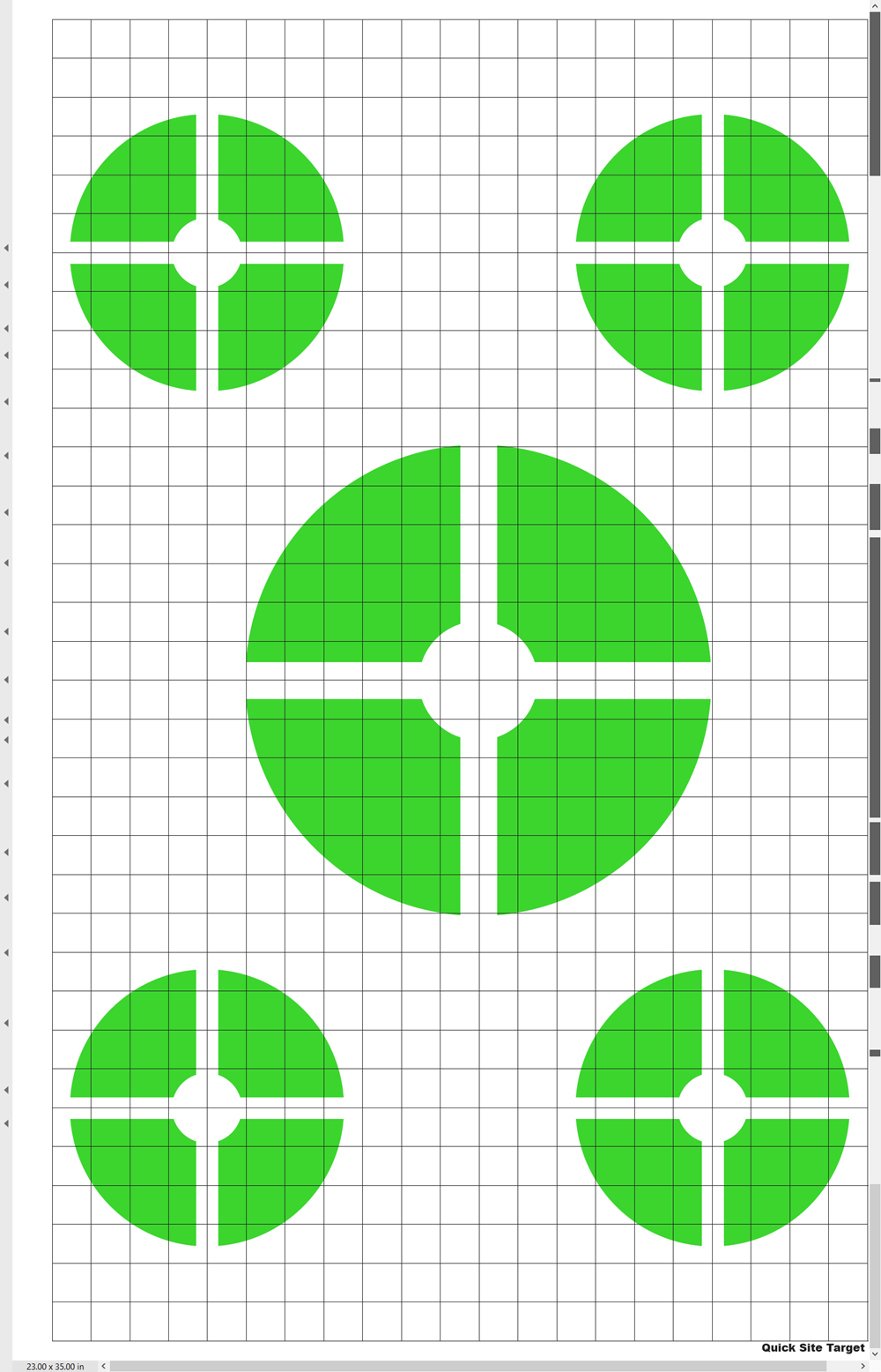 Green Quick Site Target