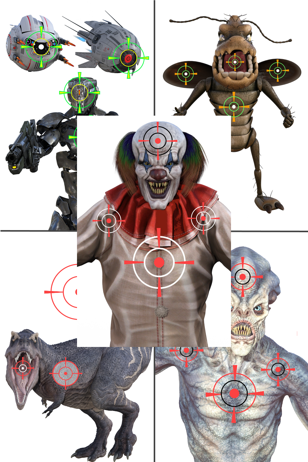 Combo Target Pack 1
