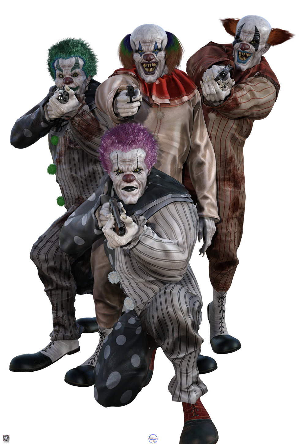 Bunch of Scary Clowns Target Product Image