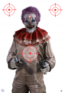 Scary Clown Target